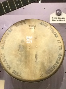 Pete Seeger Banjo Head